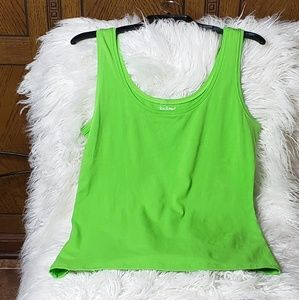 Lilly Pulitzer Lime Green Tank Top